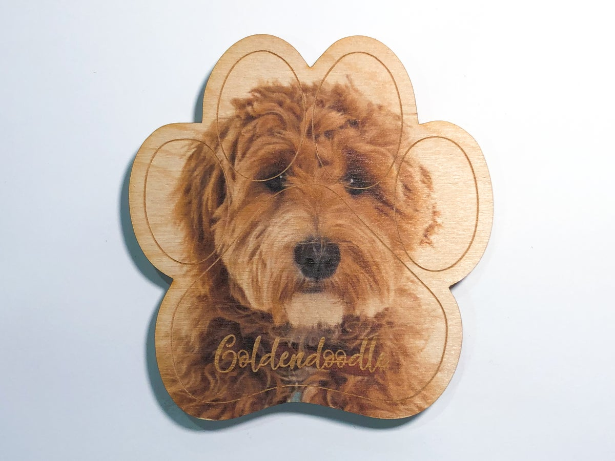 Image of Goldendoodle Magnet