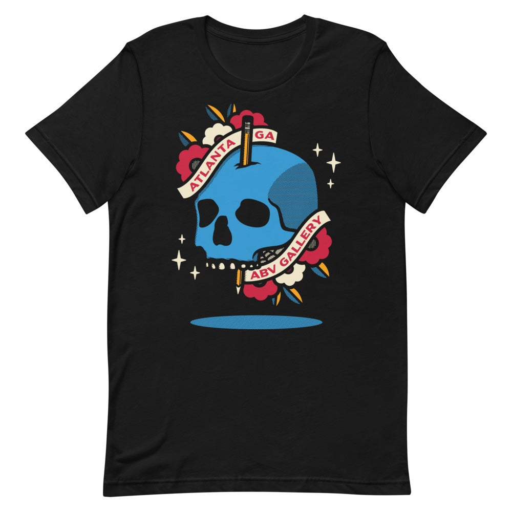 Image of ABV Limited Edition Skull T-Shirt