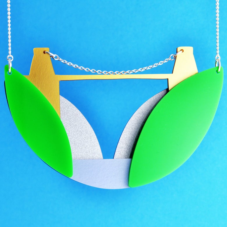 Image of Clifton Suspension Bridge necklace