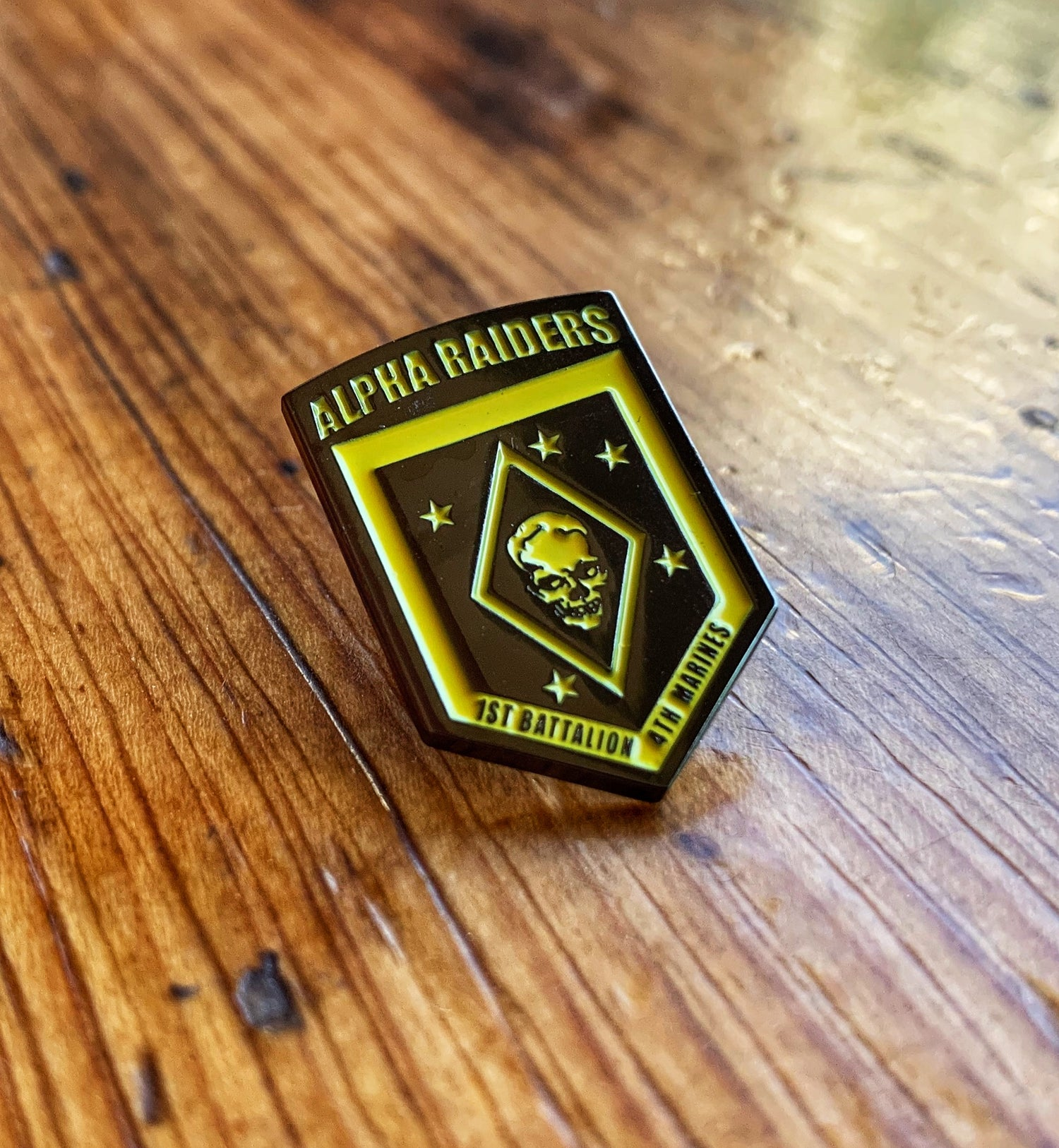 Image of Alpha Raider Lapel Pin