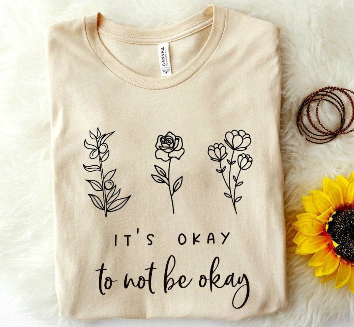 Image of No rain no flowers shirts