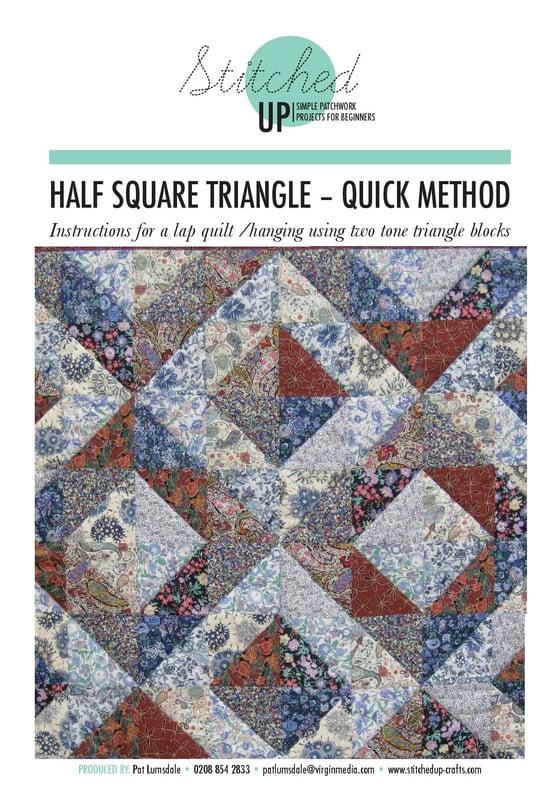 Image of HALF SQUARE TRIANGLE