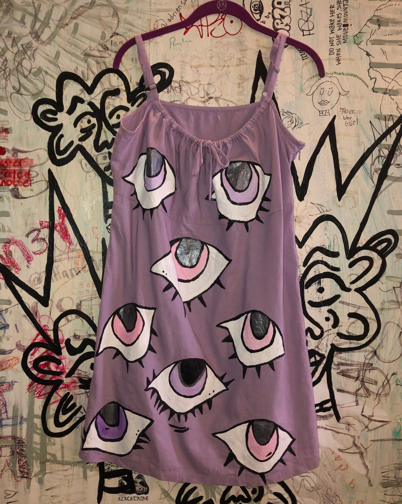 Image of SAIbysai Lavender Eye Dress