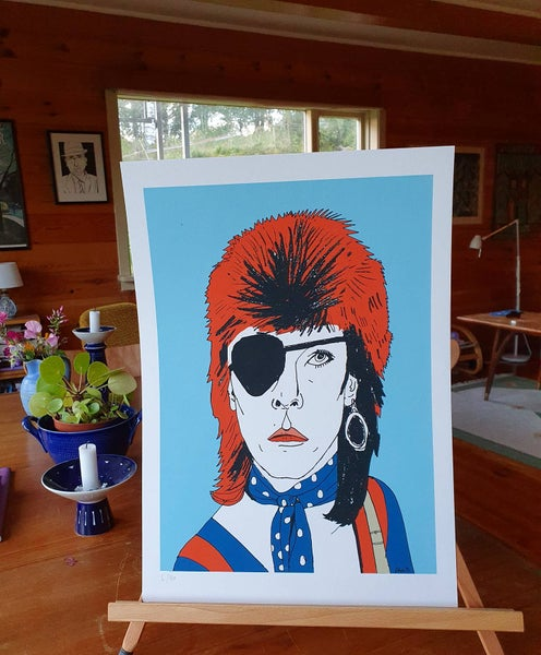 Image of David Bowie print