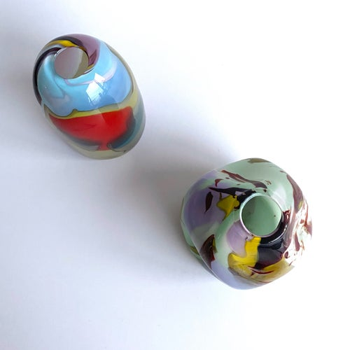 Image of The Epiphany vases by BaleFire Glass