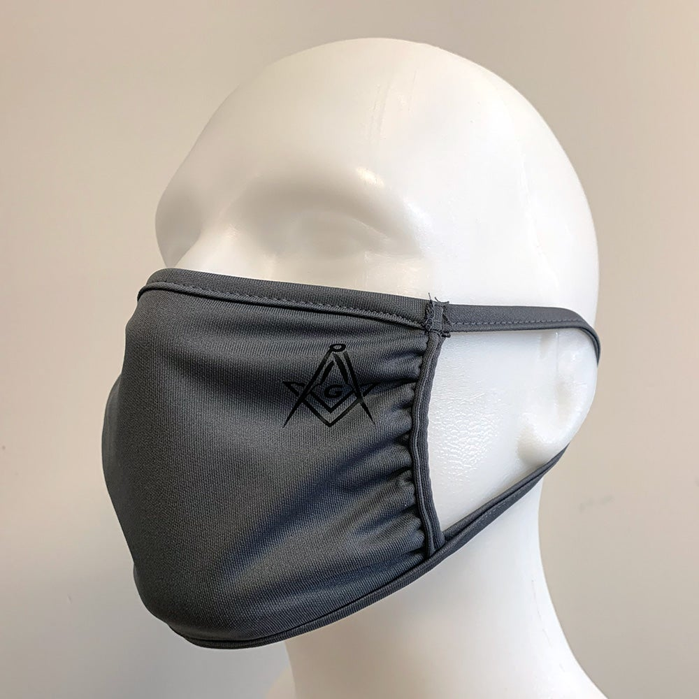 Image of Square & Compass Face Mask 4-pk