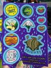Kori's Cool Sticker Sheet Summer 2020