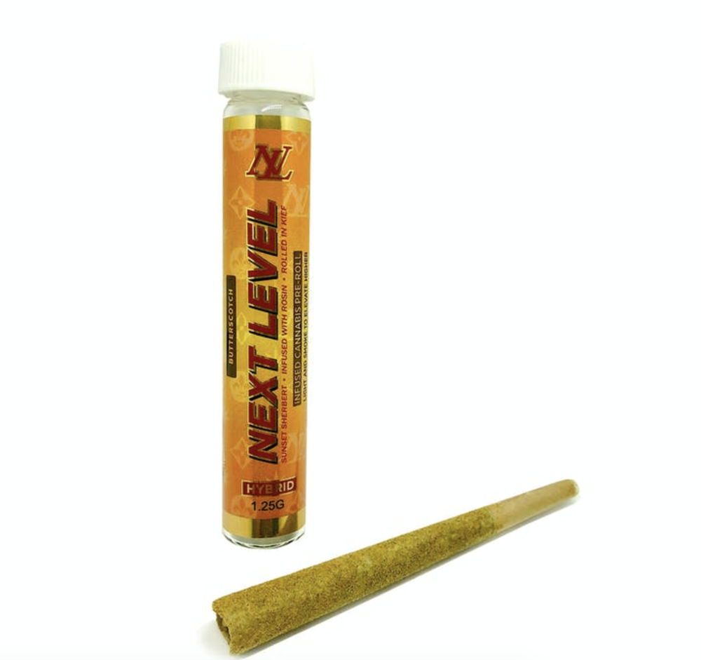 Image of NL Butterscotch Premium Keif preroll