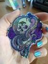 Holo Glitter Tentaskull Sticker