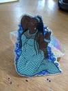 Holo Glitter Mermaid Sticker