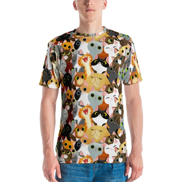 Image of Cat Crowd T-Shirt