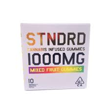 Image of STNDRD 1000mg Sativa Gummies