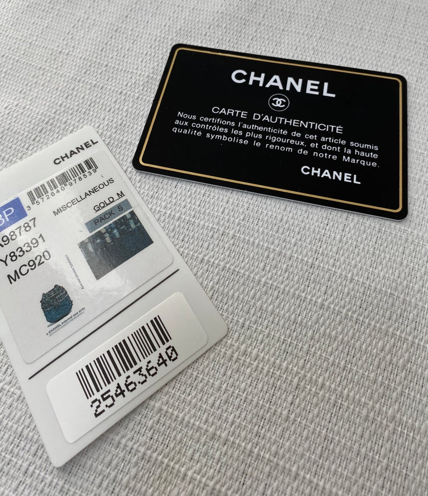 Image of Chanel 2018 S/S Tweed Gabrielle Drawstring Bag