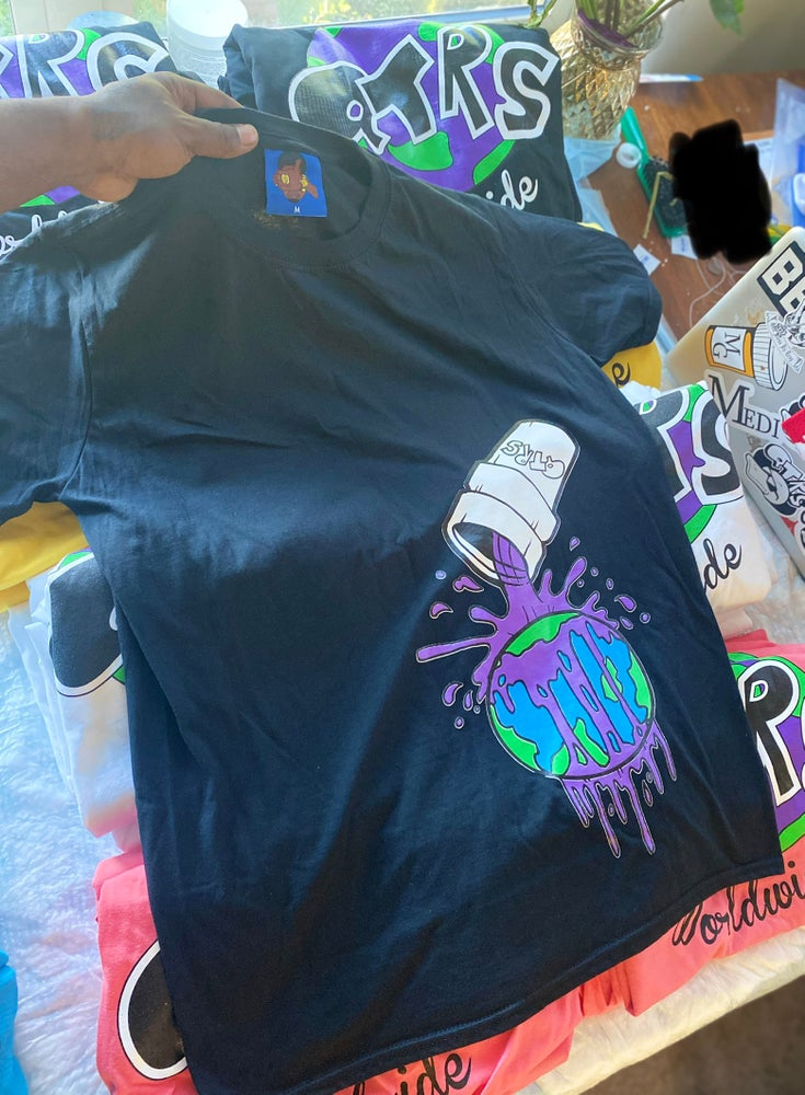 Image of I Remember When The WRLD Went Crazy tees