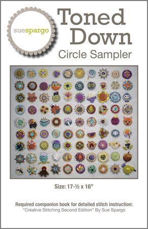 Image of Toned Down Circle Sampler Pattern