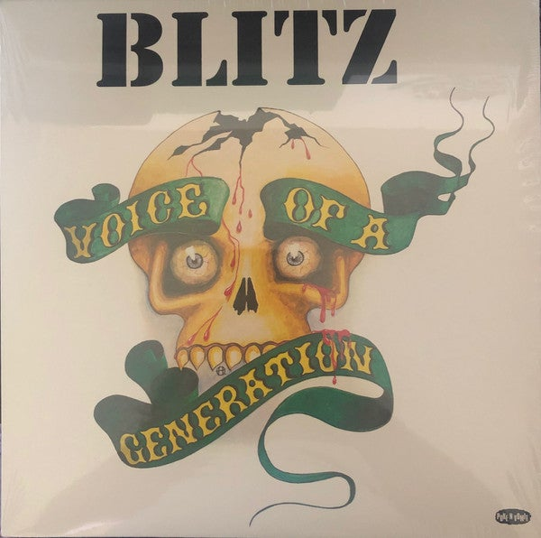 """Image of BLITZ - """"Voice Of A Generation"""" LP (w/poster)"""