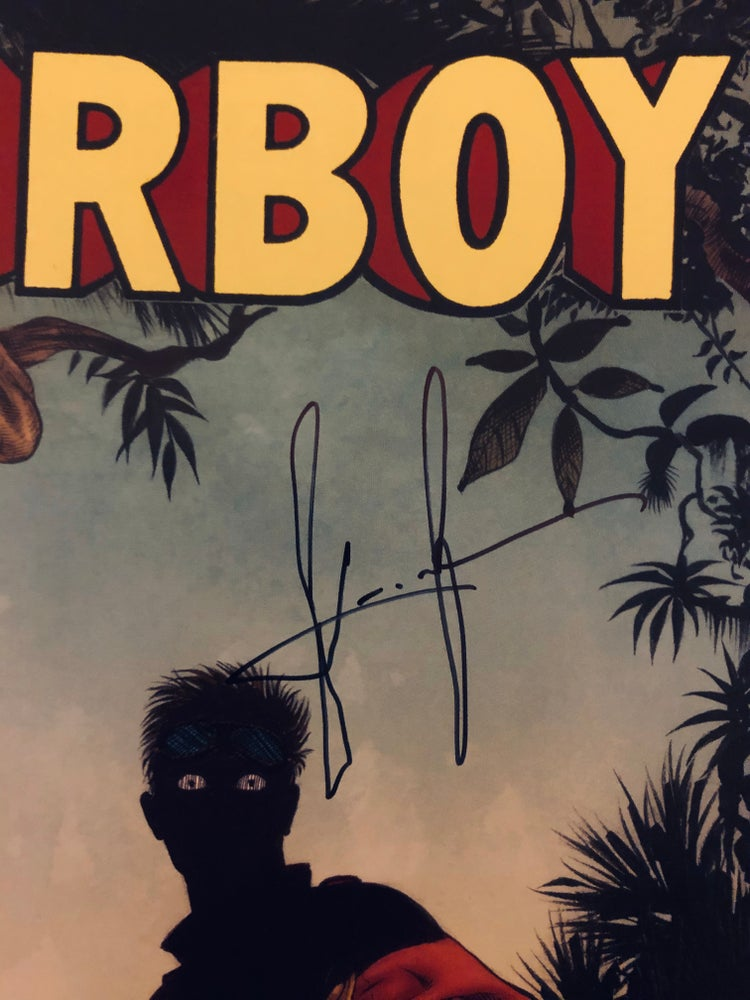 Image of AIRBOY #51 (Sam Kieth SIGNED variant)