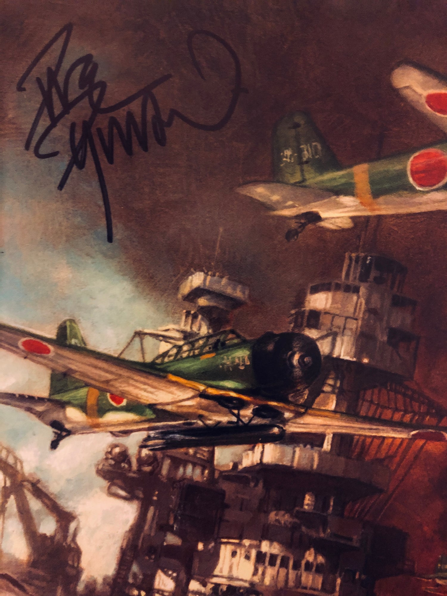 Image of PEARL HARBOR: FROM THE PAGES OF COMBAT (Dave Dorman SIGNED variant cover)