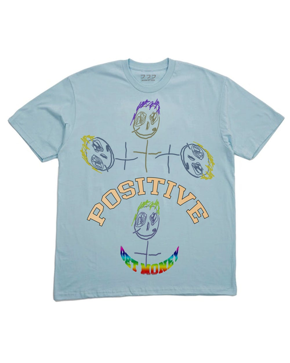 Image of POSITIVE TEE (ICE BLUE)