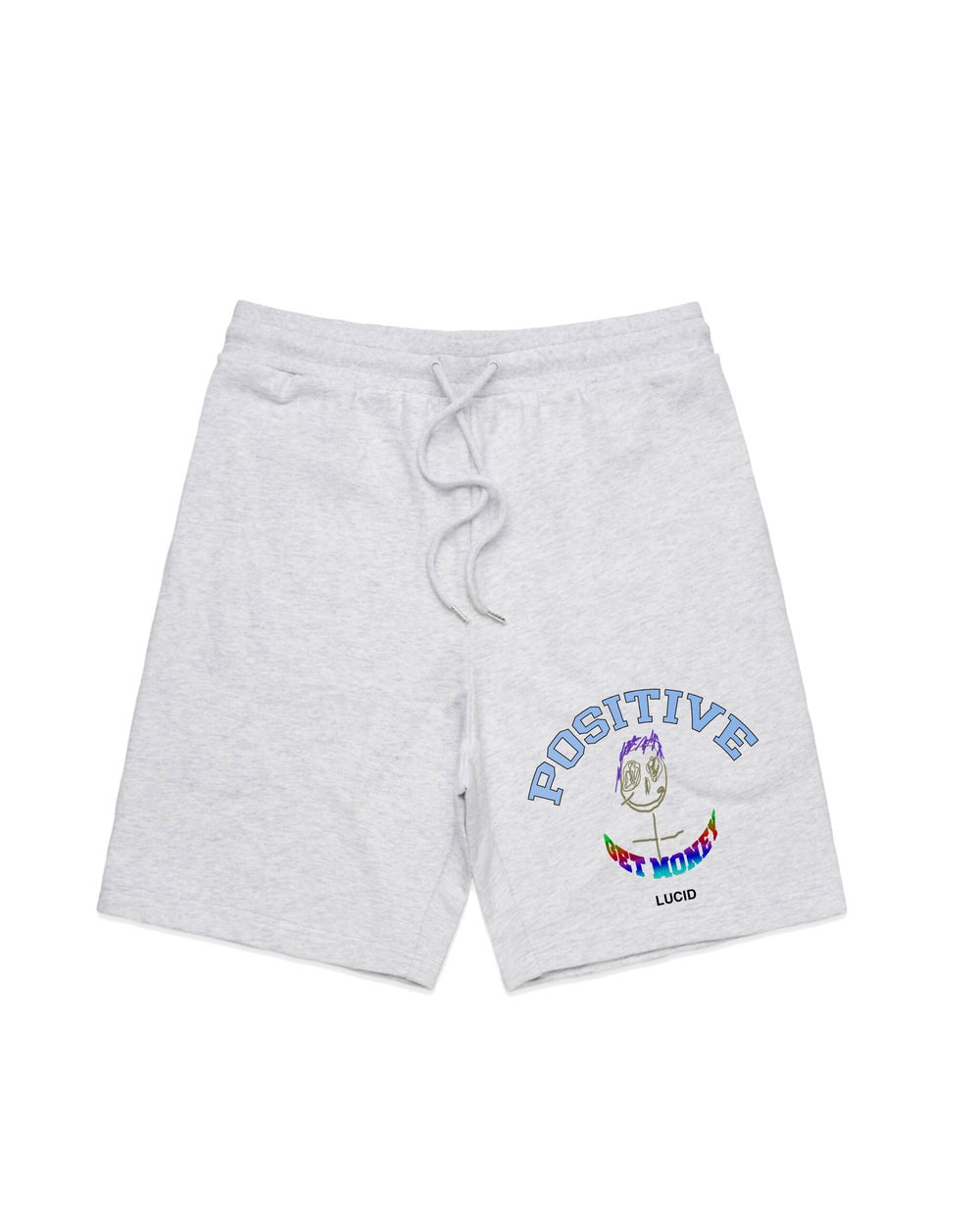Image of POSITIVE SWEAT-SHORTS (ASH GREY