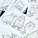 Image 3 of *Now Shipping!* Dogs in Shoes! a coloring book... by Ambrosia Sullivan