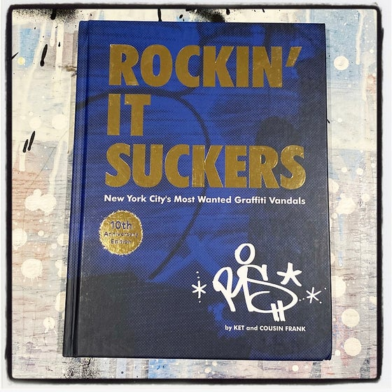 Image of ROCKIN' IT SUCKERS BOOK (10TH ANNIVERSARY EDITION)
