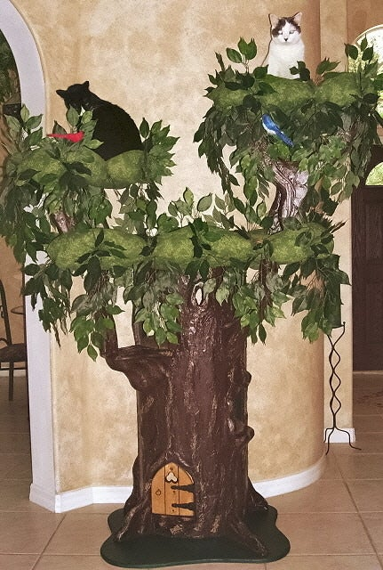 Auto For Less >> 6' ~ Hidden Hollow ~ Cat Tree | A Fantasy Forest