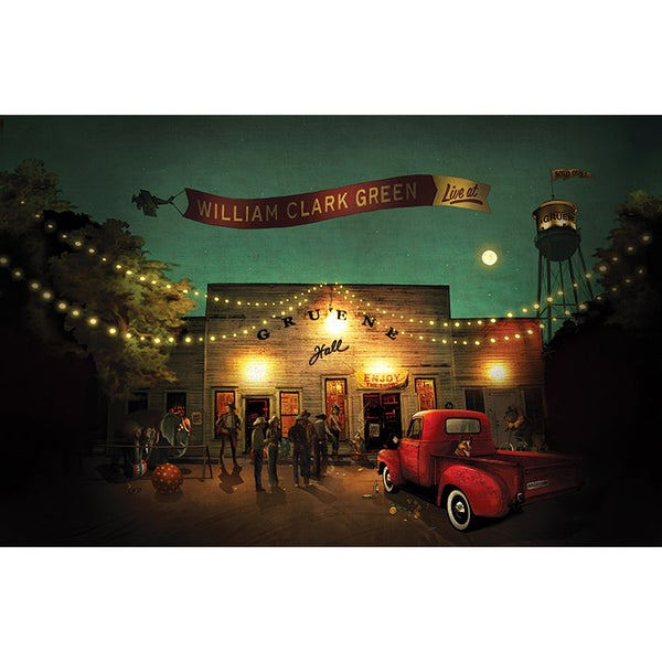 Image of Live At Gruene Hall Poster
