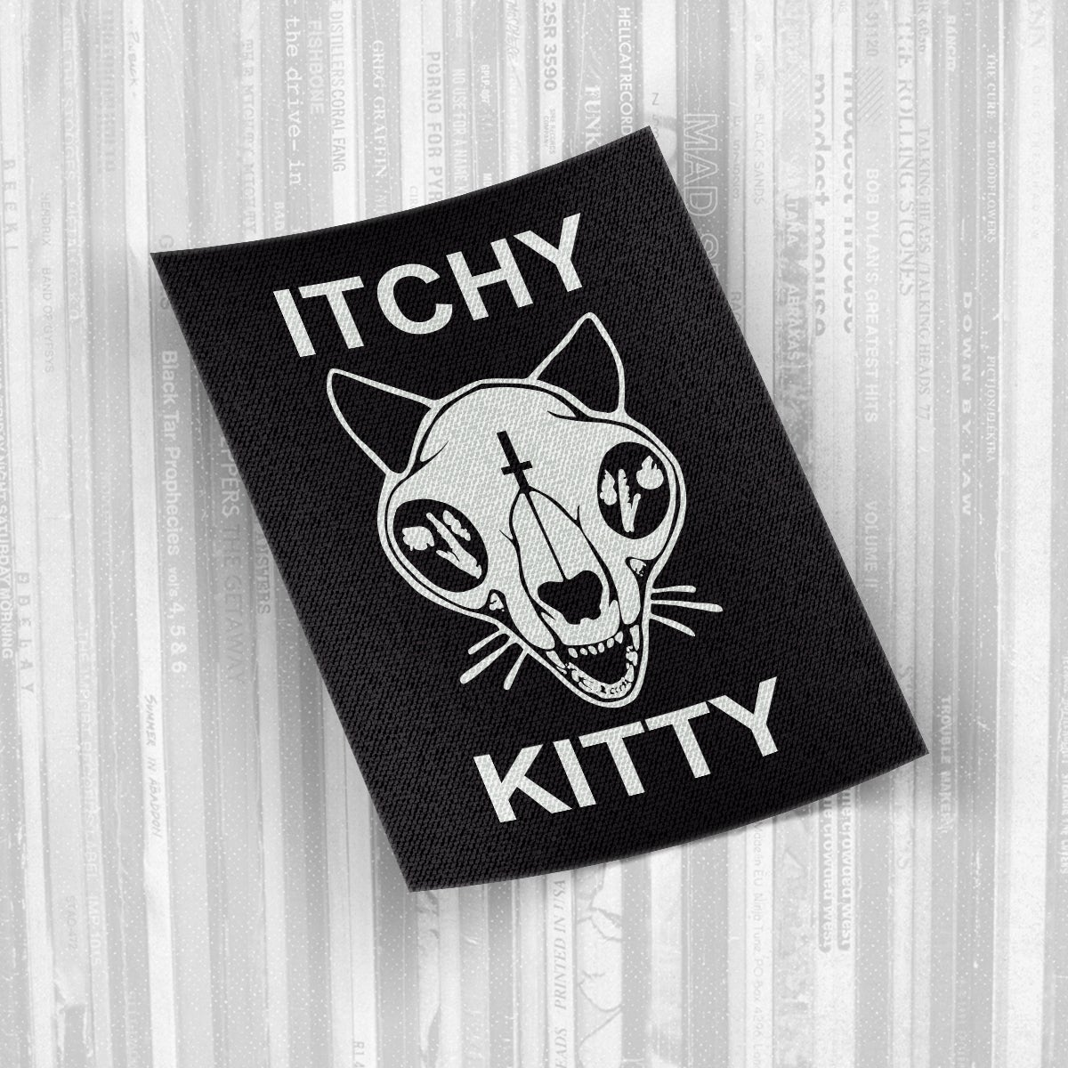 Itchy Kitty - Canvas Logo Patch