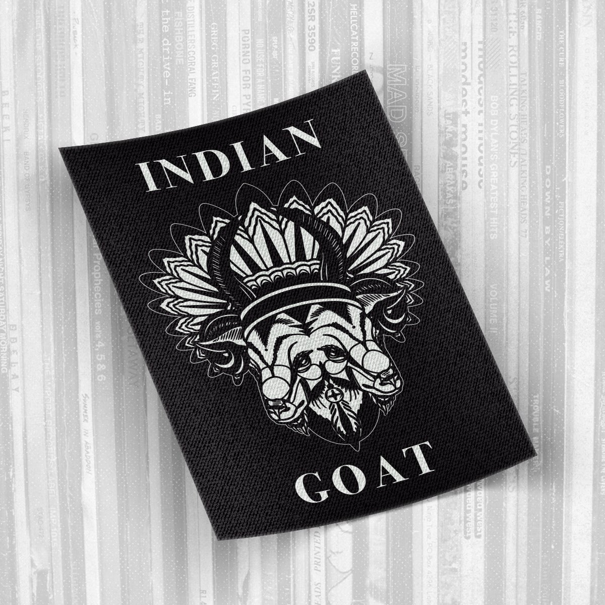 Indian Goat - Logo Canvas patch