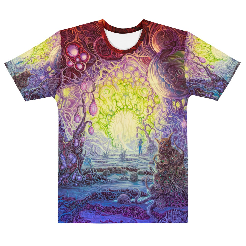 The Wanderer Allover Print Men's T-shirt by Mark Cooper