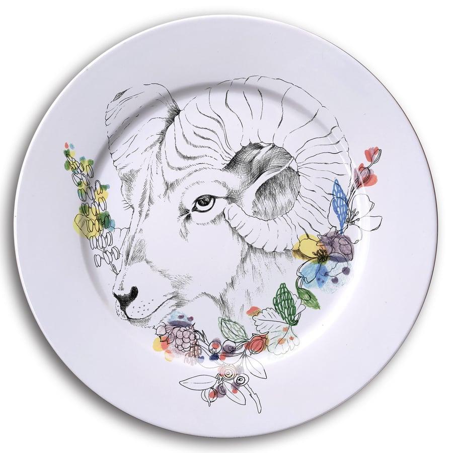 Image of  BIGHORN SHEEP Dinner Plate