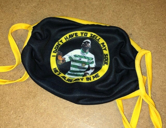 EDOUARD REUSABLE FACEMASK with free stickers