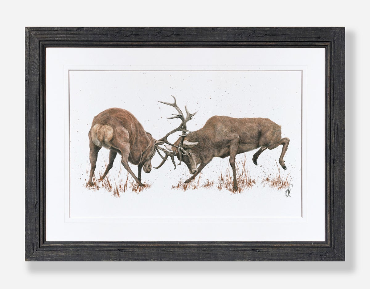 Image of 'FOR HONOUR AND GLORY' Limited Edition Print