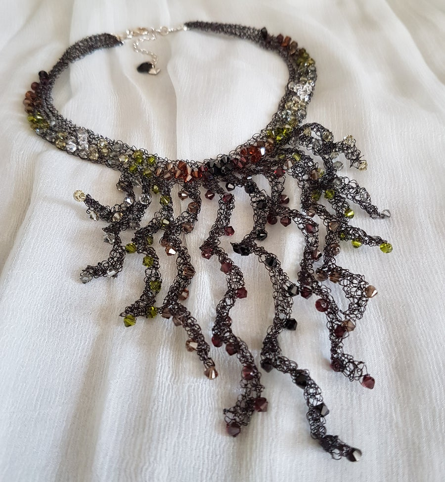 Image of EARTH TENDRILS Necklace