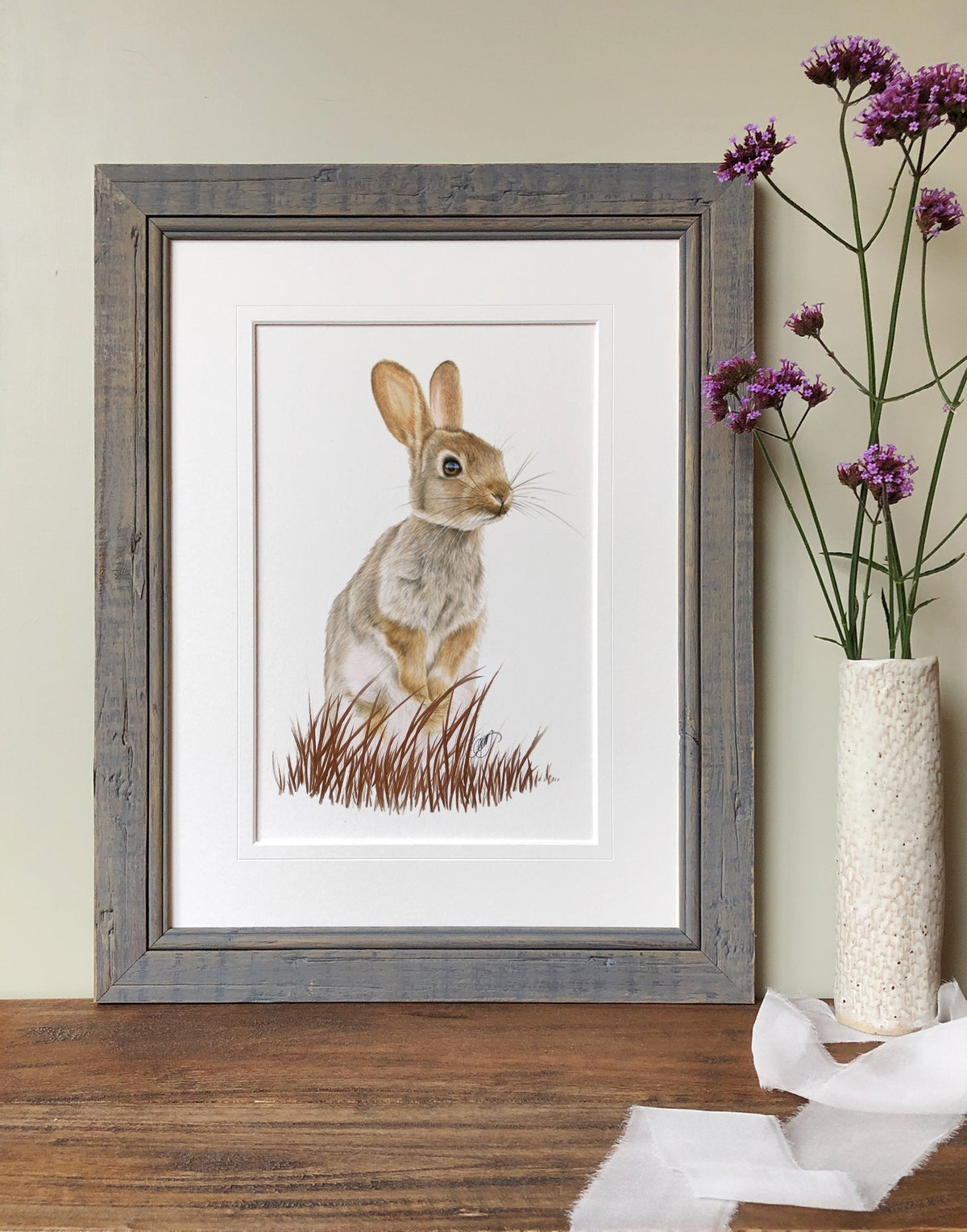 """Image of """"Willow"""" Limited Edtion Print - Hand Embellished"""
