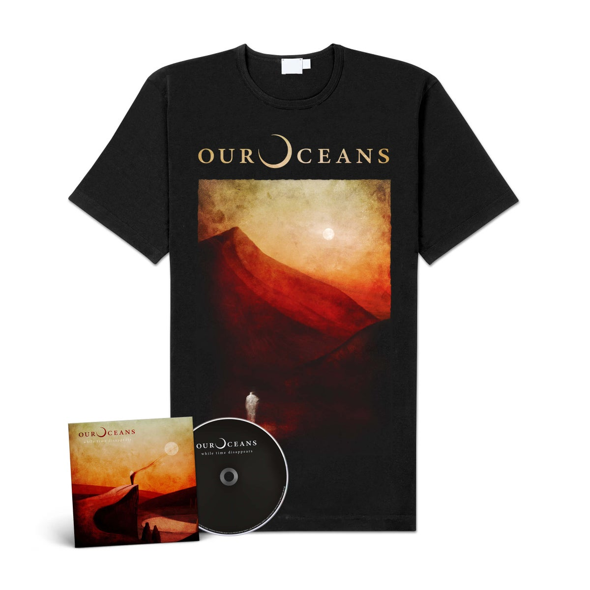 "Image of Our Oceans ""While Time Disappears"" CD-Bundle"