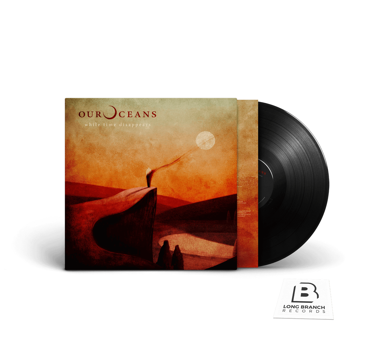 "Image of Our Oceans ""While Time Disappears"" LP"