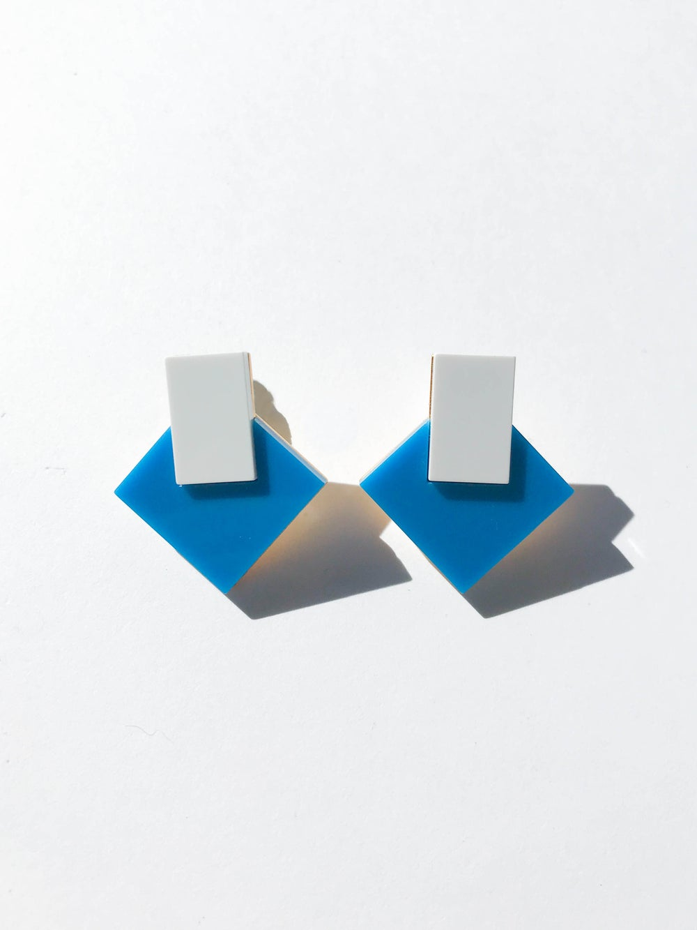 Boha earrings - Blue