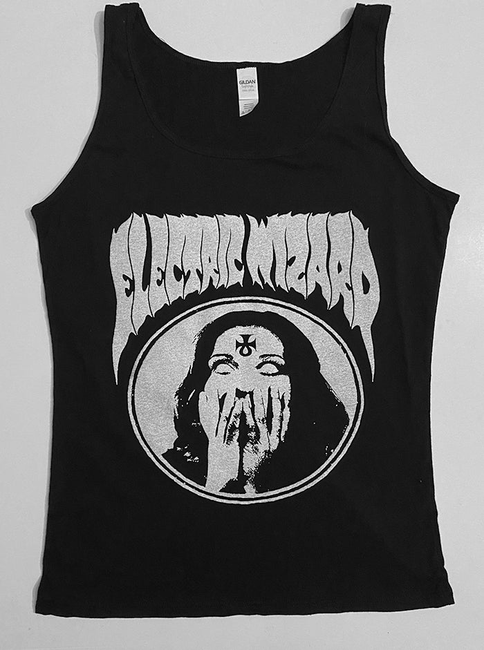 "Image of Electric Wizard "" Inverted Ankh Girl "" Ladies Tank Top"