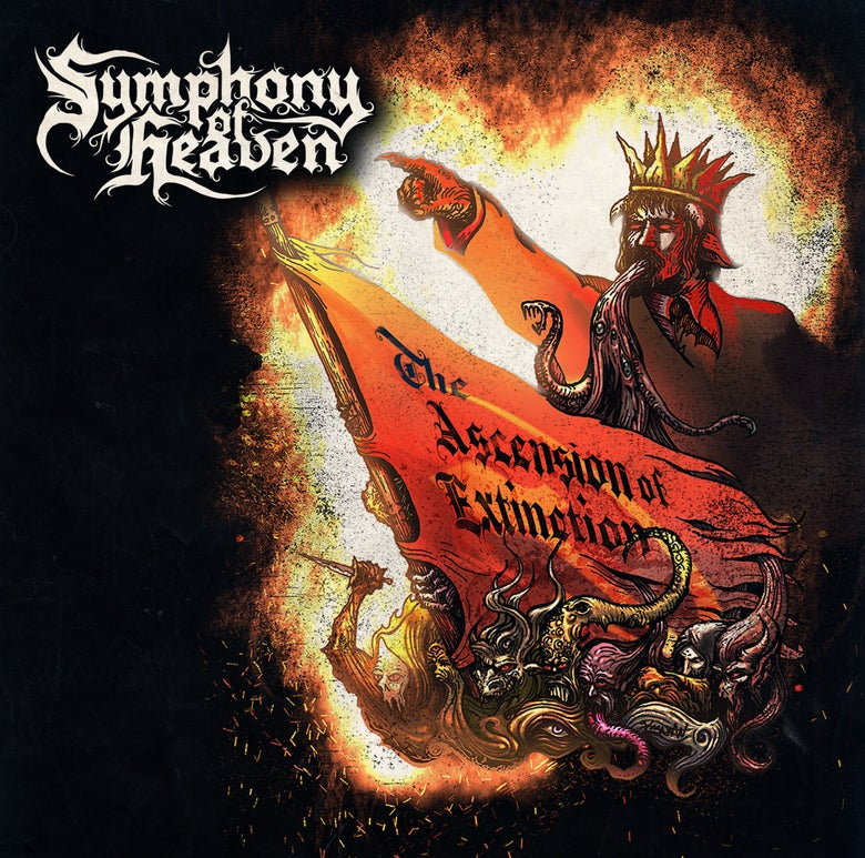 Image of SYMPHONY OF HEAVEN - THE ASCENSION OF EXTINCTION CD