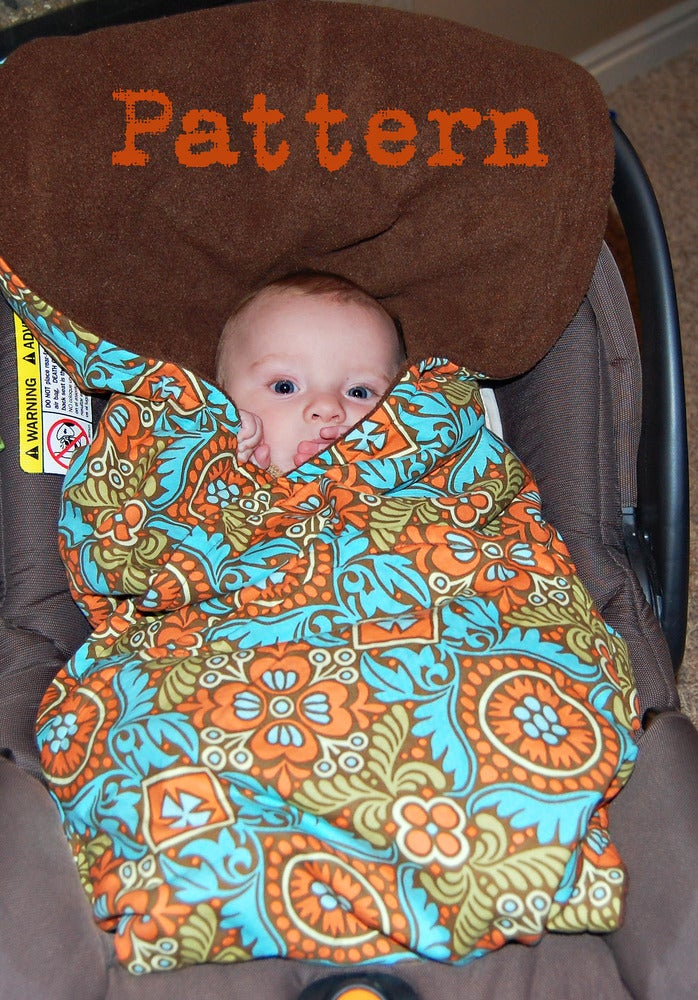 Car Seat Blanket Pattern And Picture Tutorial PDF
