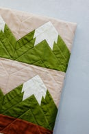 Image 3 of SNOWY MOUNTAIN QUILT Pattern PDF