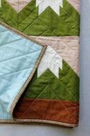 Image 4 of SNOWY MOUNTAIN QUILT Pattern PDF