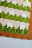 Image 5 of SNOWY MOUNTAIN QUILT Pattern PDF