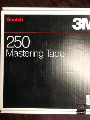 "Image of 3M 250 2"" X 2500' REEL TO REEL MASTER TAPE - ONE PASS"