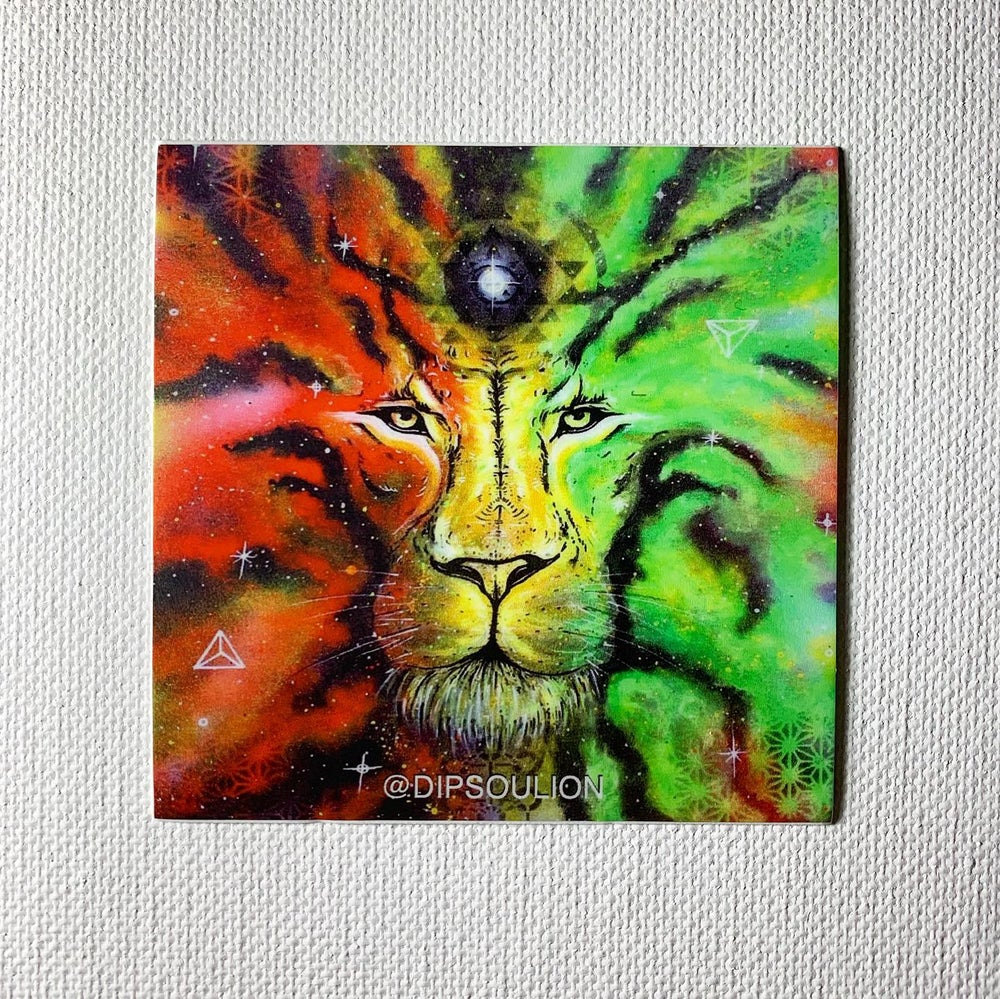 Image of SoulestiaLion sticker