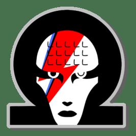 Image of Omega Bowie Badge