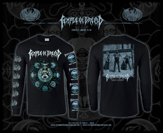 Image of Temple of Dread • World Sacrifice Longsleeve