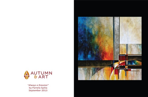 Image of Autumn & Art Featured Artist Notecards